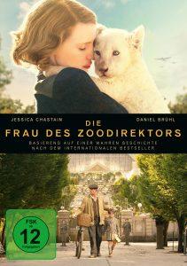 DVD-Cover von Die Frau des Zoodirektors aus 2017