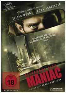 DVD-Cover zu Maniac von 2012