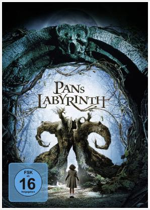 DVD-Cover zu Pan' Labyrinth von 2006