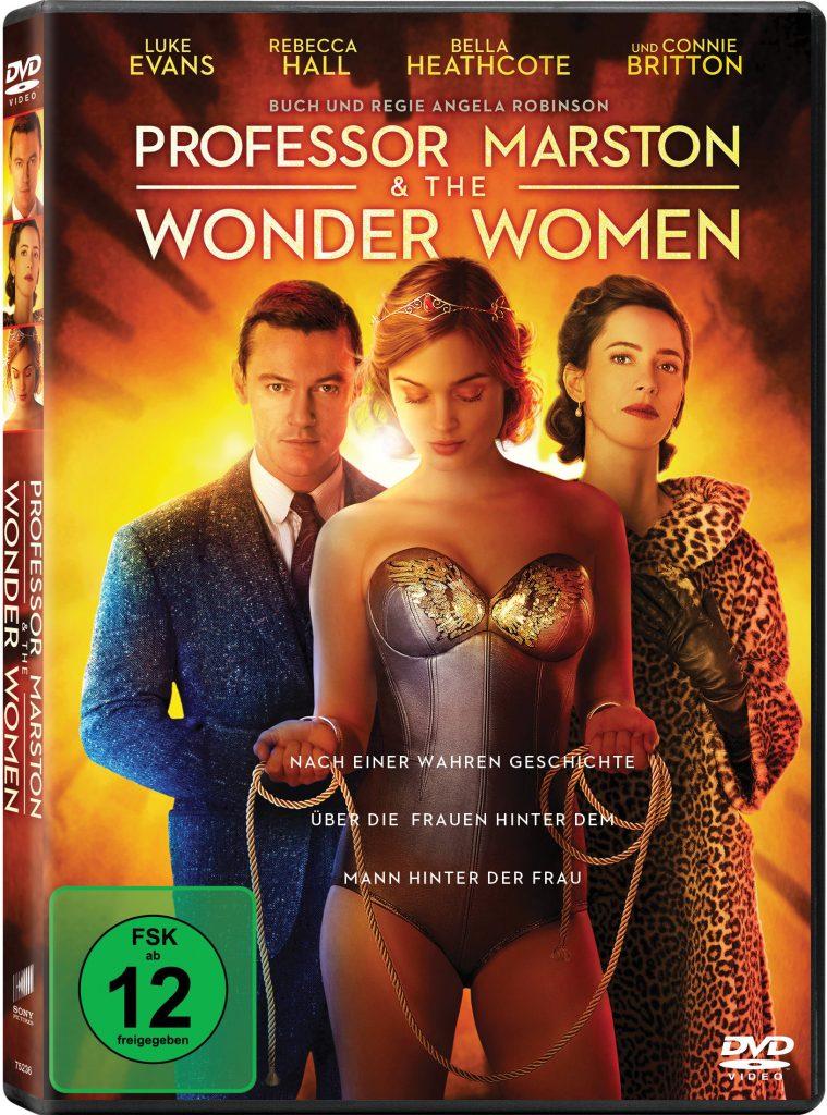 DVD-Cover zu Professor Marston and the Wonder Women
