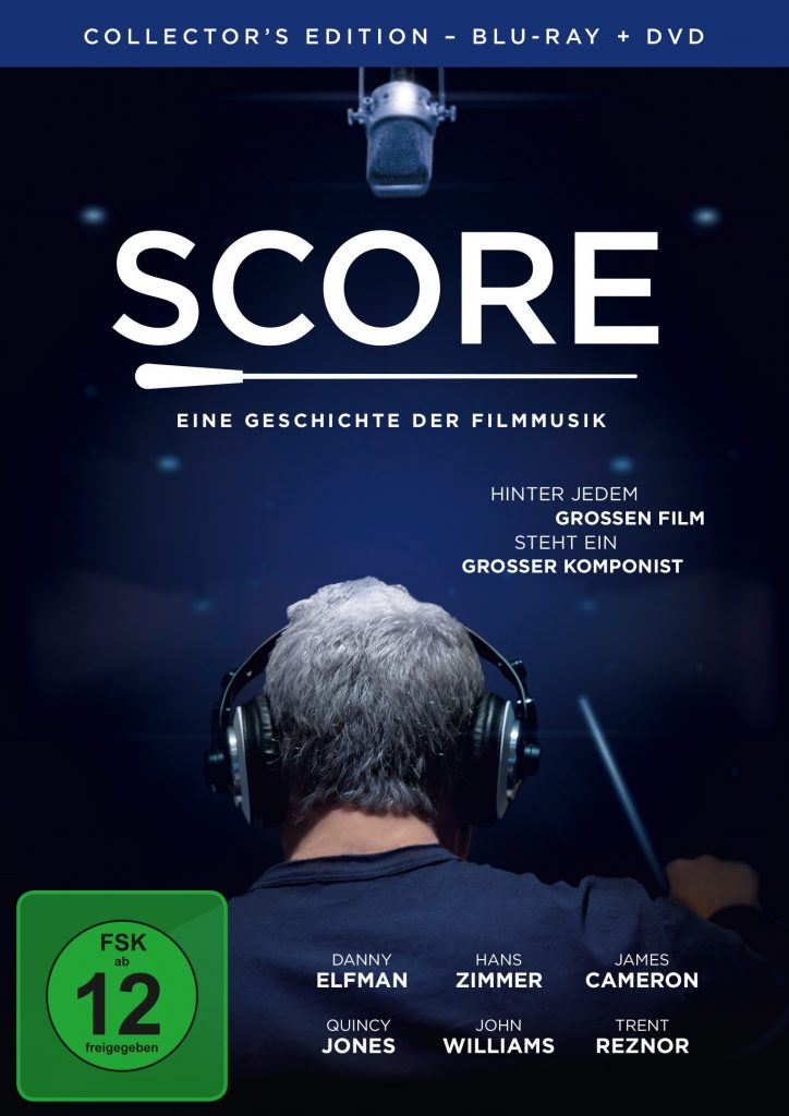 """Collector's Edition (Blu-ray+DVD) von """"Score - Eine Geschichte der Filmmusik"""" © EuroVideo"""