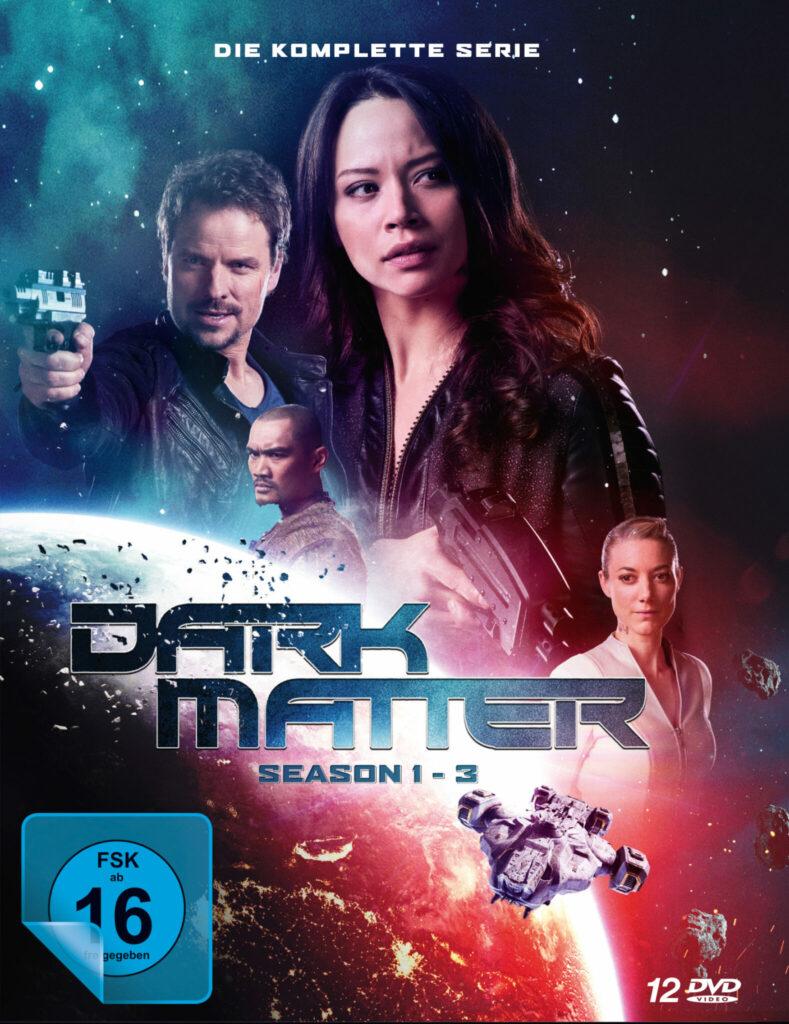 Das Cover der DVD-Komplettbox von Dark Matter.