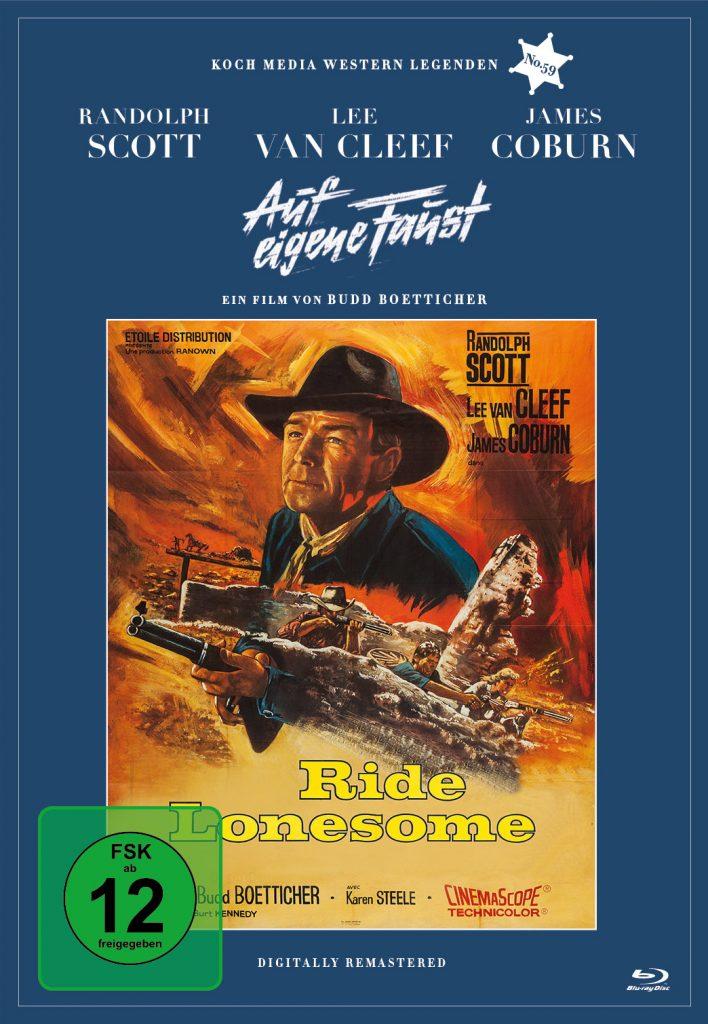 "Das Blu-Ray-Cover zu ""Auf eigene Faust"" ©Koch Films"