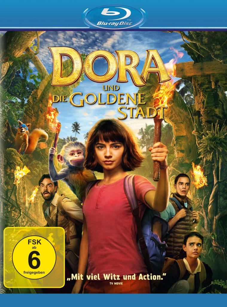 Blu-Ray-Cover zu Dora und die goldene Stadt © Paramount Pictures