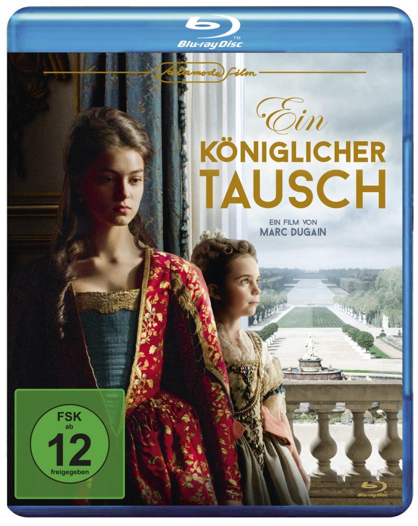 Das Blu-Ray-Cover zu Ein königlicher Tausch © Alamode Film
