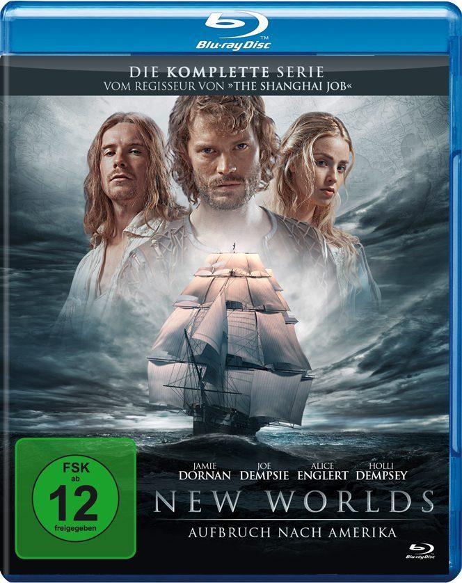 Das Blu-Ray Cover zu New Worlds - Aufbruch nach Amerika ©Tiberius Film