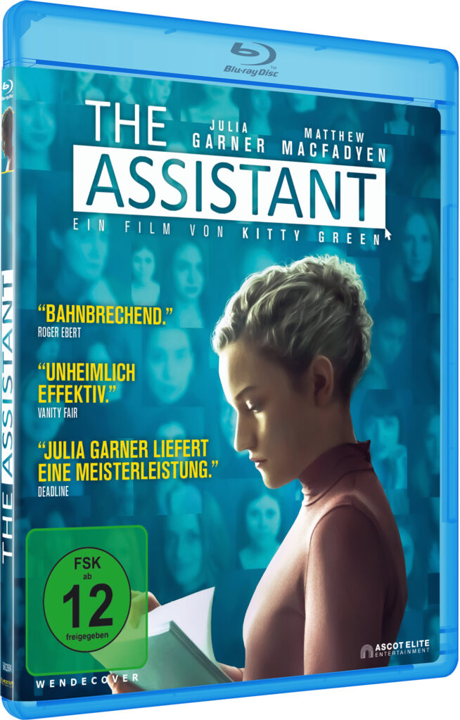 Das Blu-Ray-Cover zu The Assistant ©Ascot Elite Entertainment