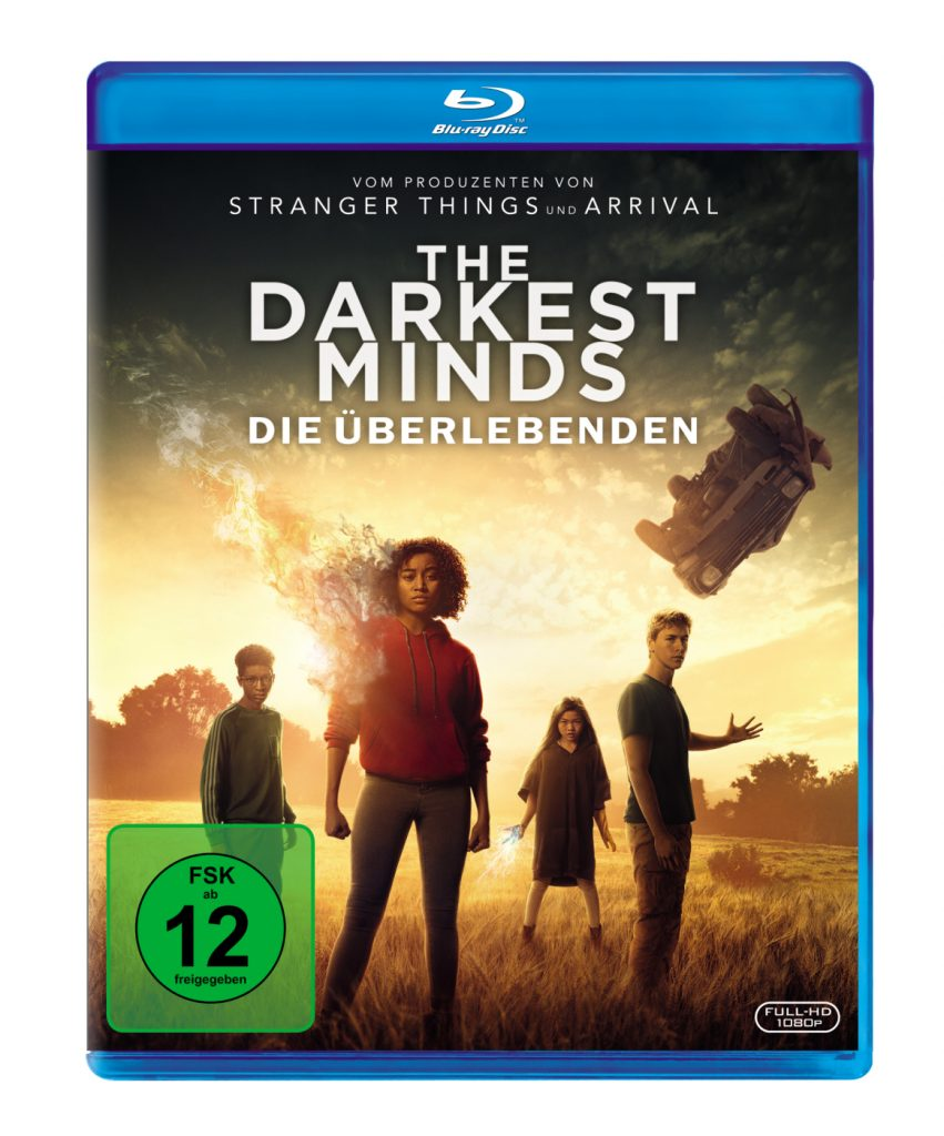 Das Blu-Ray-Cover zu The Darkest Minds - Die Überlebenden ©20th Century Fox
