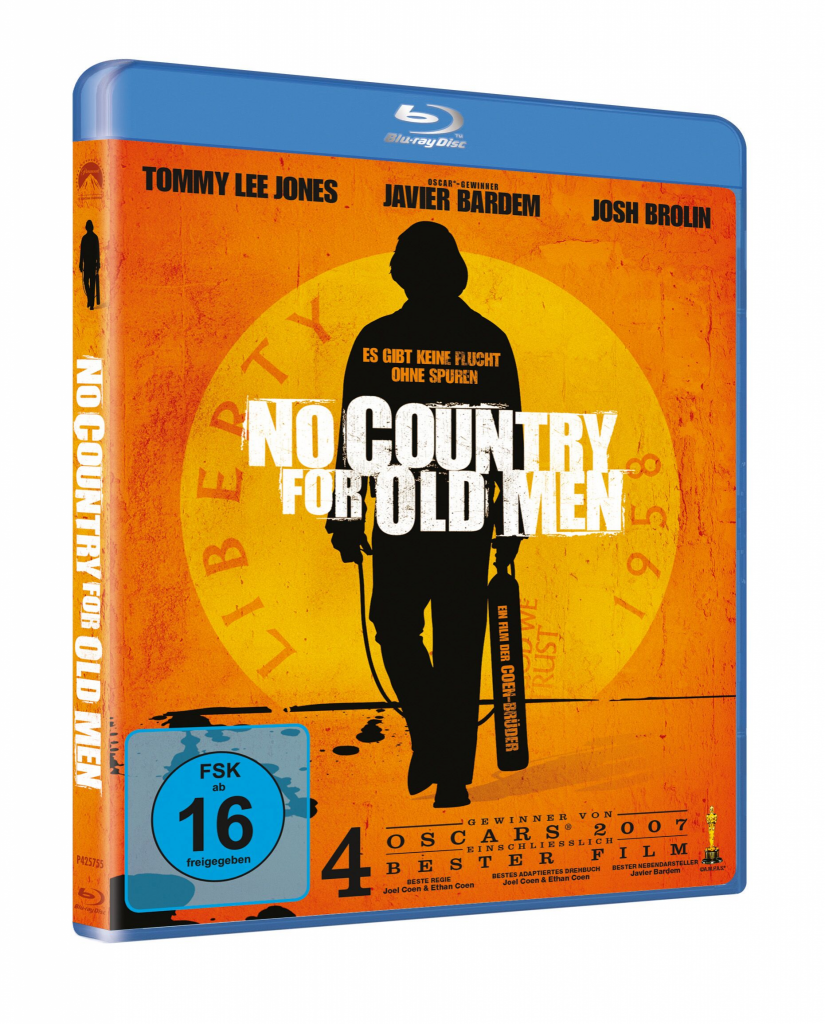 Das Blu-ray-Cover von No Country for Old Men