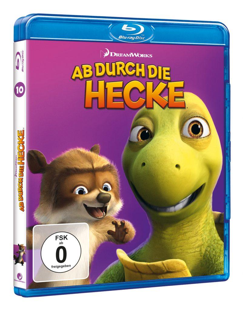 """Das Blu-ray-Cover zu """"Ab durch die Hecke"""" © Universal Pictures"""