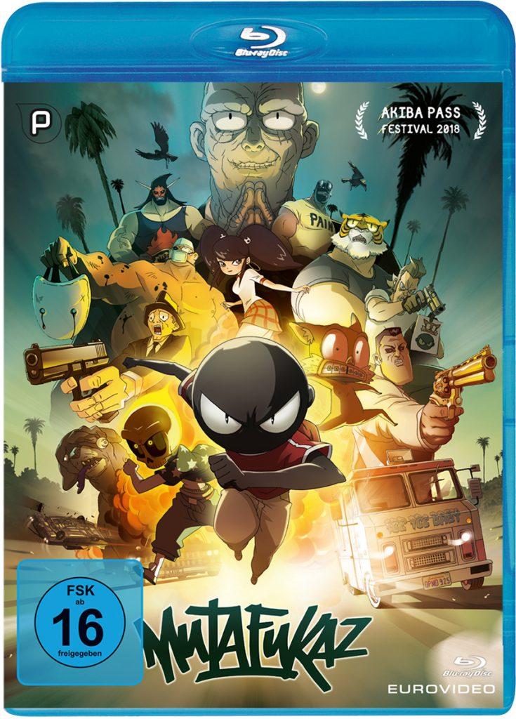 Das Blu-ray-Cover zu Mutafukaz © EuroVideo Medien GmbH