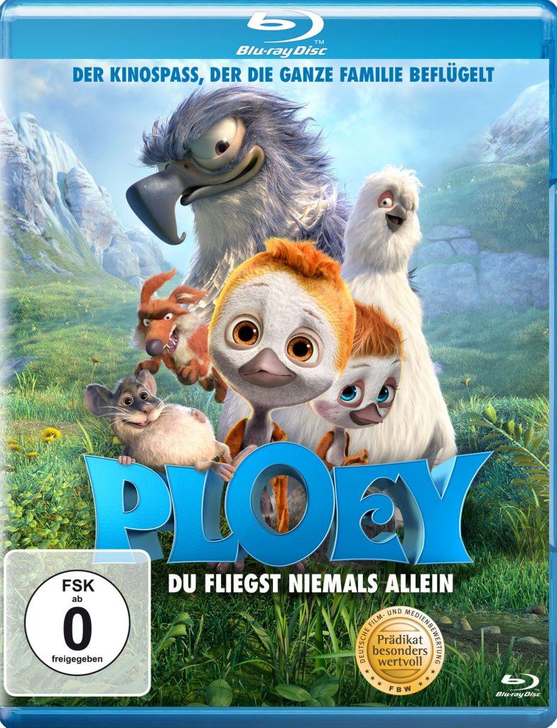Das Blu-ray-Cover zu Ploey - Du fliegst niemals allein © 2019 Koch Films