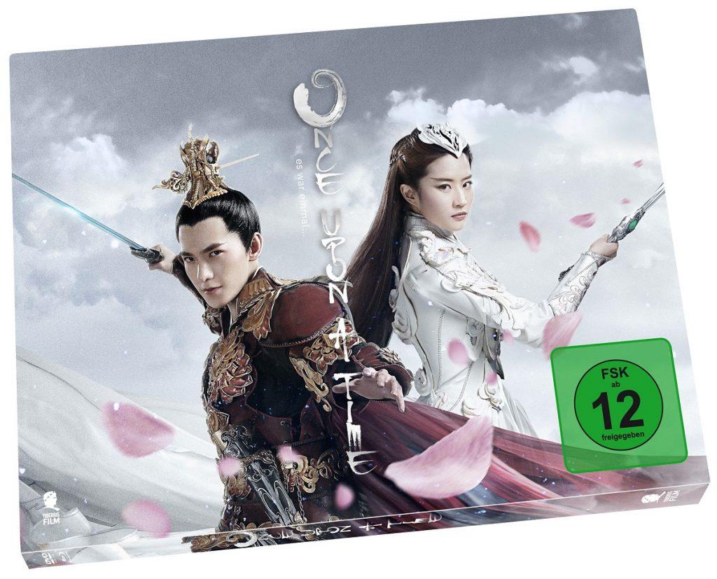 Das Cover der Blu-Ray- und DVD-Verpackung zu Once Upon A Time - In einer fantastischen Welt ©Tiberius Film