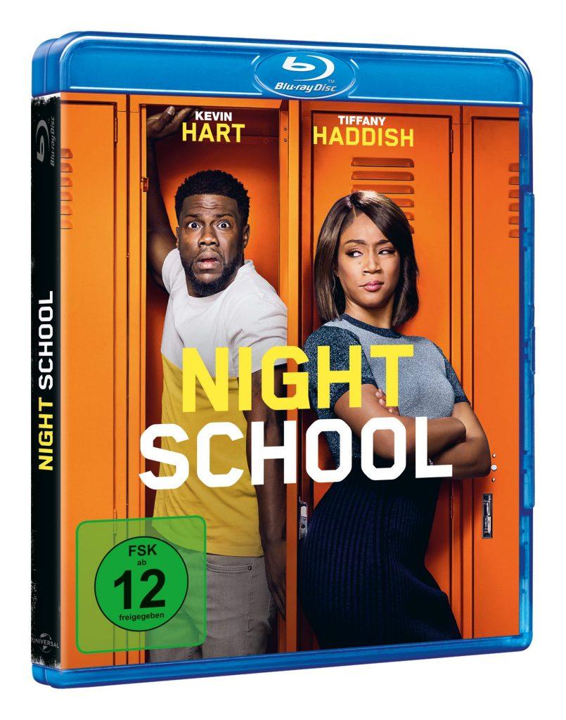 Das Cover zu Night School, erhältlich auf Bluray & DVD (© Universal Pictures)