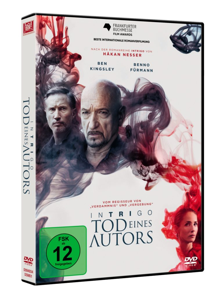 Das DVD-Cover zu Intrigo - Tod eines Autors © 2018 Twentieth Century Fox Home Entertainment