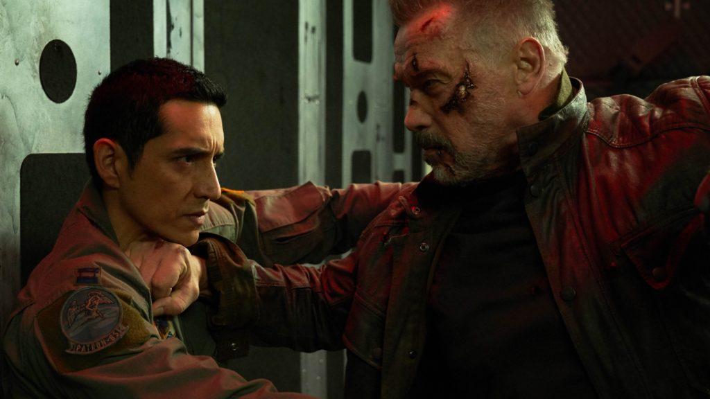 Das Duell der Terminatoren in Terminator: Dark Fate © 2019 Twentieth Century Fox