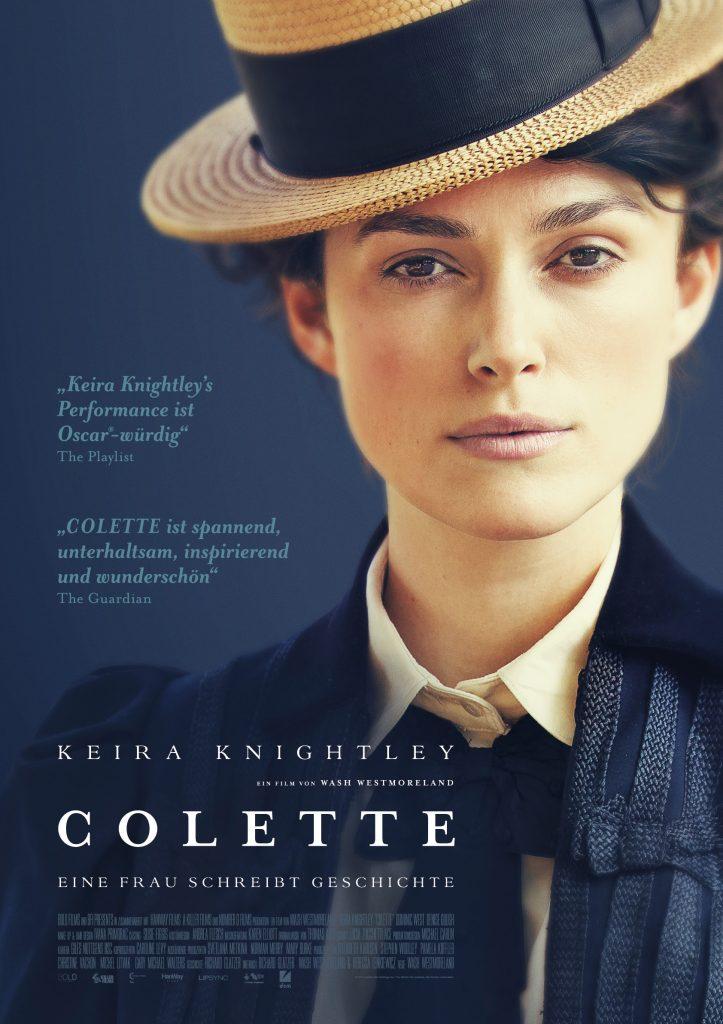 Das Filmplakat zu Colette ©DCM Film Distribution