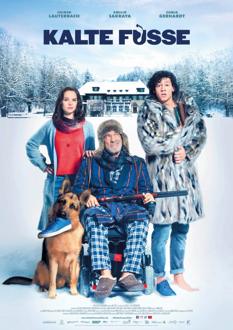 Das Filmplakat zu Kalte Füße ©Sony Pictures