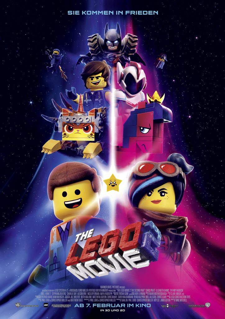 Das Filmplakat zu The Lego Movie 2 ©20th Century Fox