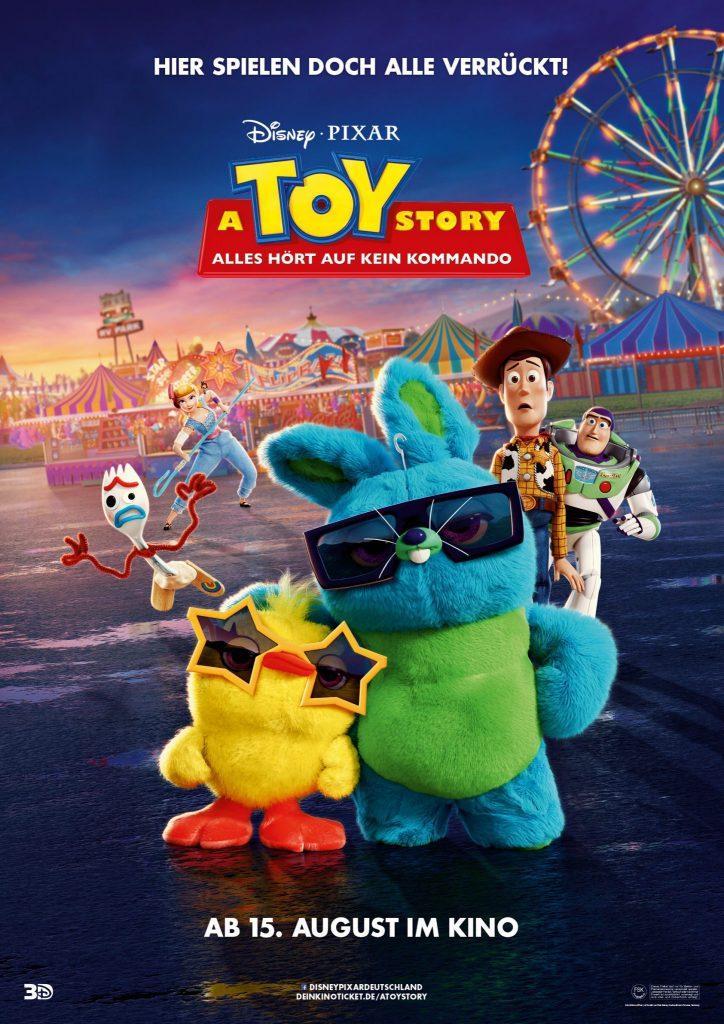 """Das Filmplakat zu """"Toy Story 4"""". Das Spielzeug-Franchise zählt zu den erfolgreichsten in der Geschichte Disneys ©Walt Disney Studios Motion Pictures"""