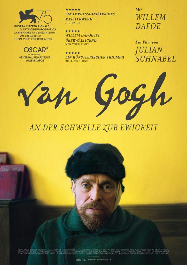 Das Filmplakat zu Van Gogh - An der Schwelle zur Ewigkeit ©DCM