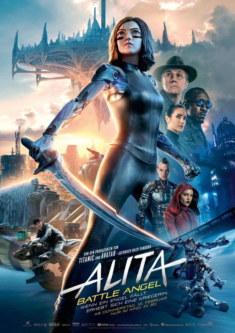Das Kinoplakat zu Alita: Battle Angel ©20th Century Fox