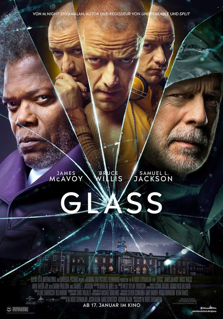 Das Kinoplakat zu Glass © The Walt Disney Company Germany
