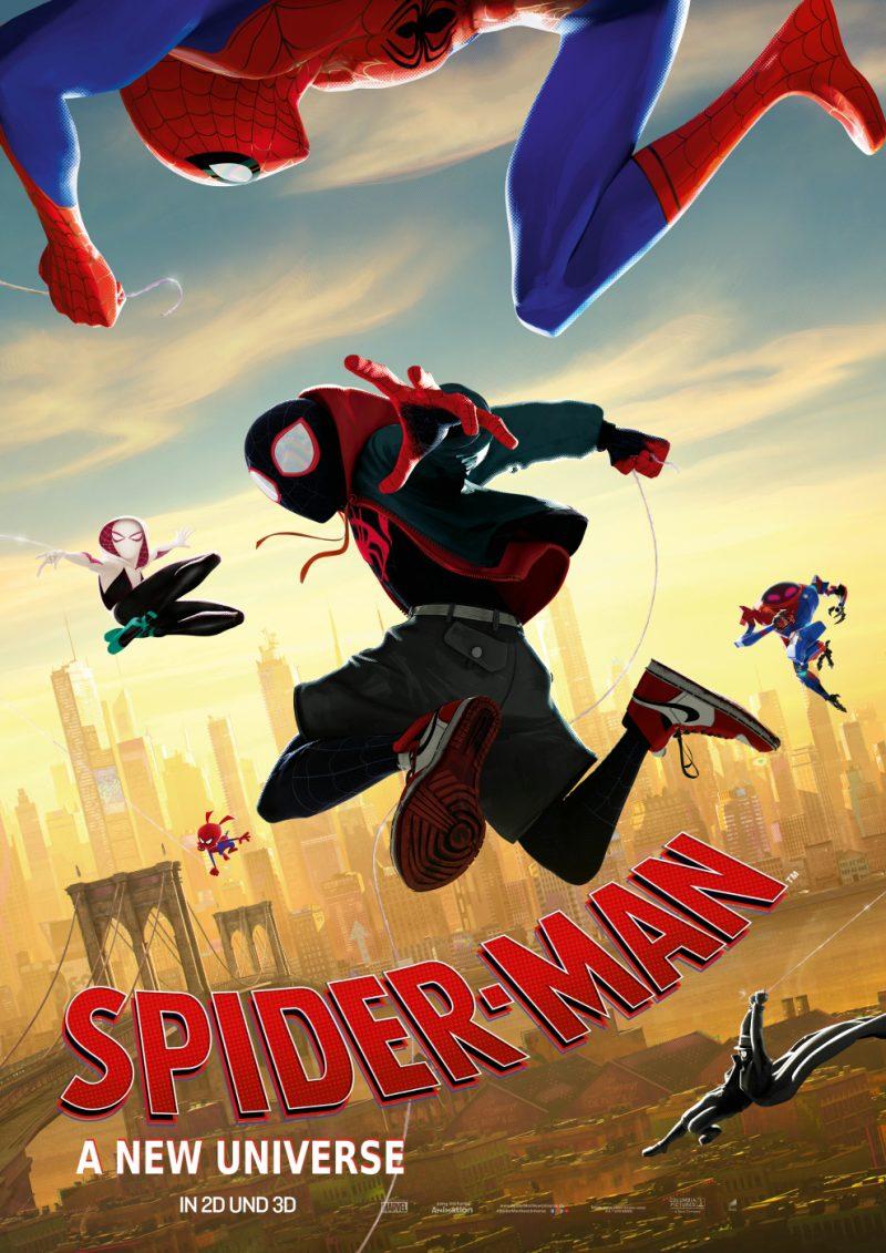Das Kinoplakat zu Spider-Man: A New Universe ©Sony Pictures