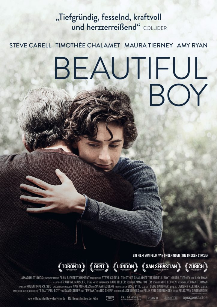 Das Original-Kinoplakat zu Beautiful Boy © 2018 NFP marketing & distribution