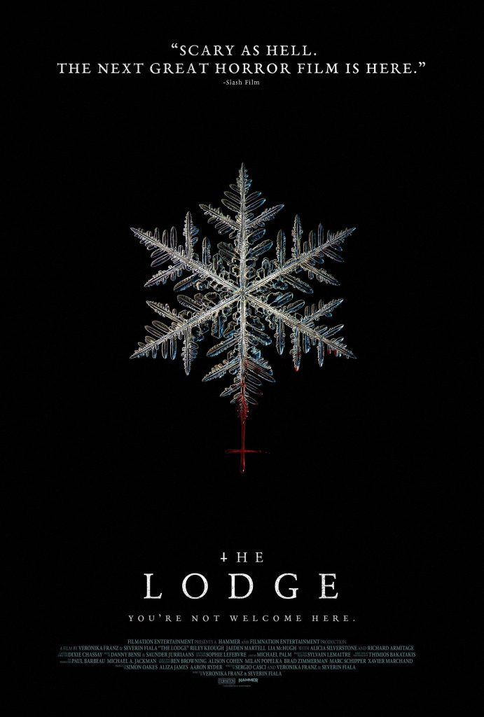 Das bisherige Kinoplakat zu The Lodge © 2019 SquareOne Entertainment