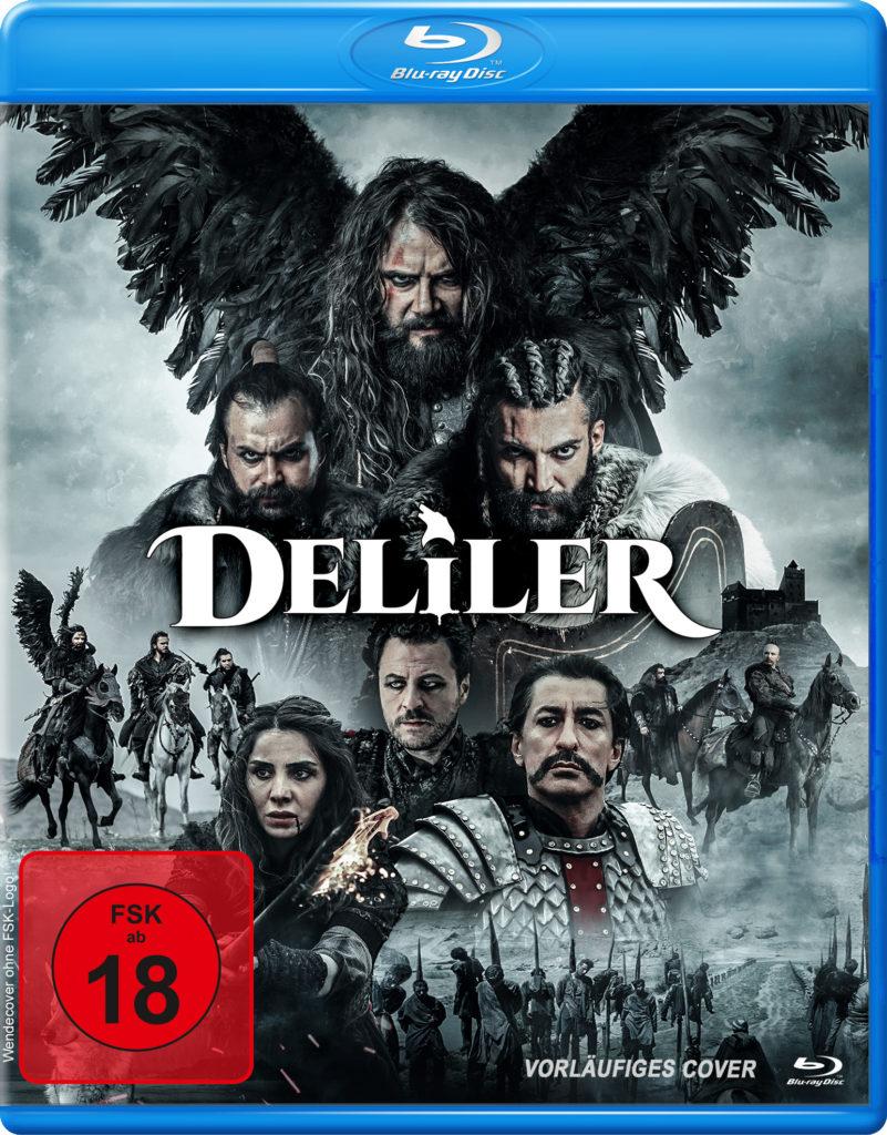 """Cover zu """"Deliler - Sieben für die Gerechtigkeit"""""""
