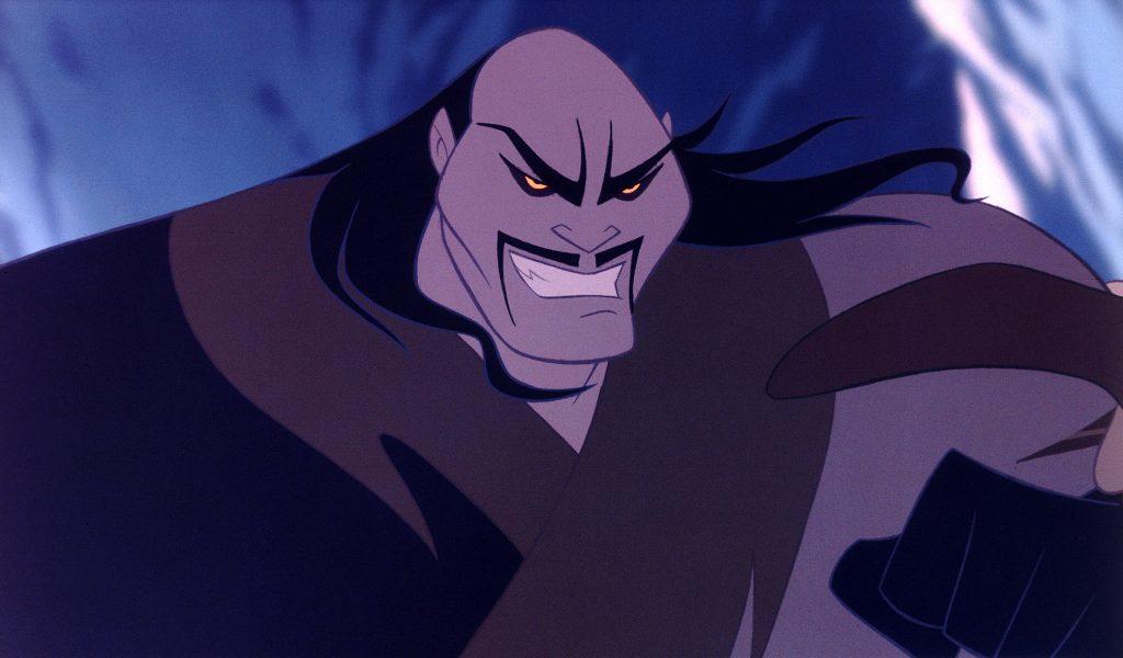 Der Anführer der Hunnen in Mulan © 2017 Disney