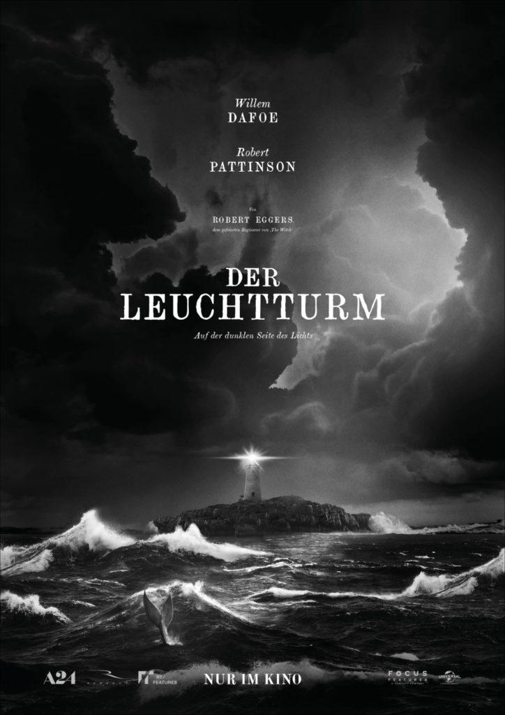 """Das offizielle Filmposter zu Der Leuchtturm. Quelle: """"Der Leuchtturm"""", erhältlich auf DVD & Bluray, (© Universal Pictures)"""
