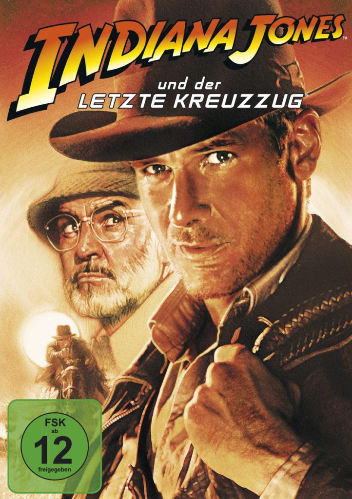 Harrison Ford und Sean Connery auf dem DVD-Cover
