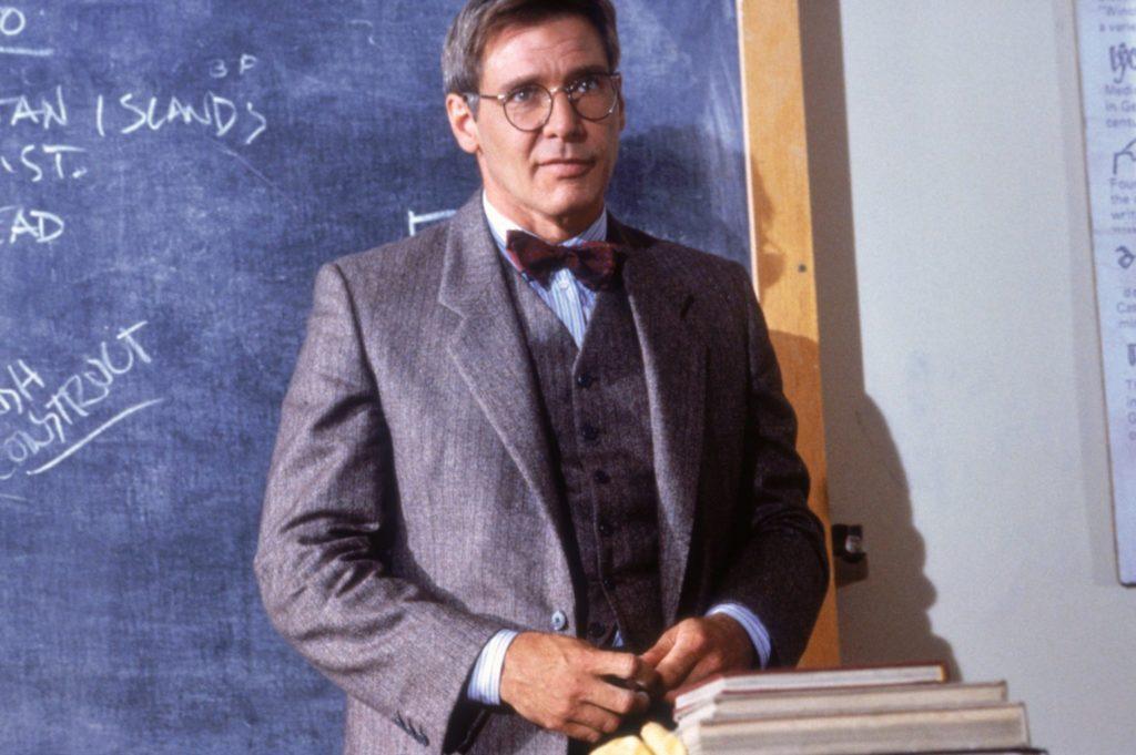 Indiana Jones (Harrison Ford) als Unidozent.