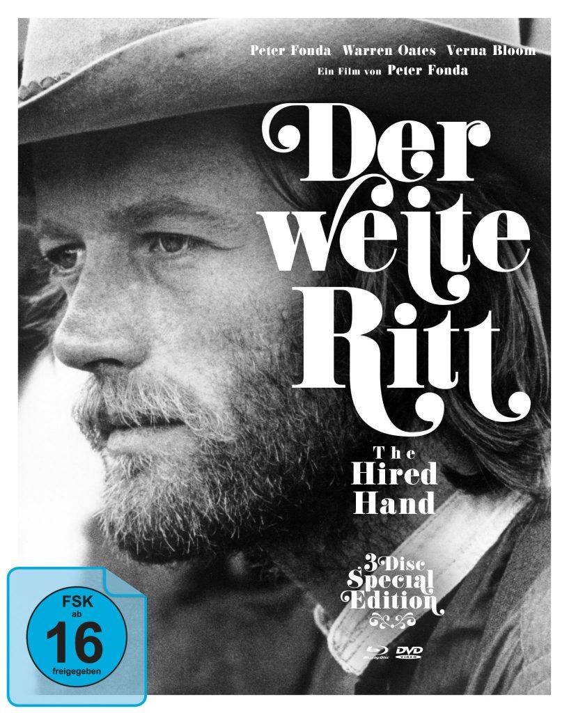 Das Cover des deutschen Mediabooks. | DER WEITE RITT © 2019 Koch Films