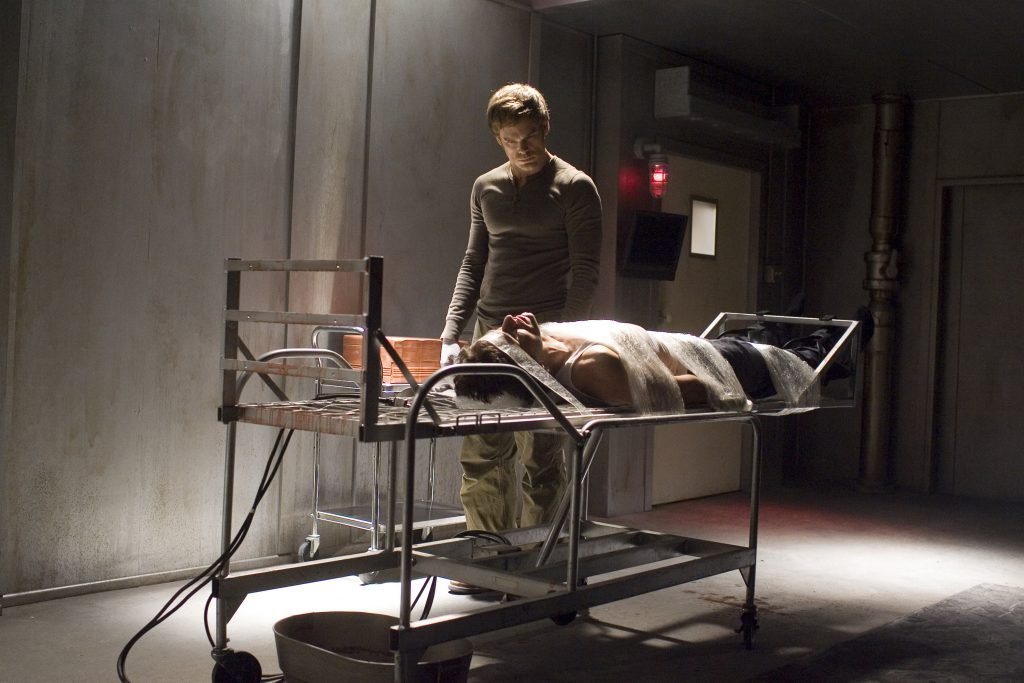 Dexter (Michael C. Hall) bei seinem Hobby
