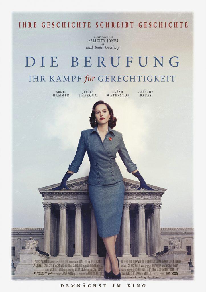 Das offizielle Filmposter von Die Berufung. © 2018 eOne Germany