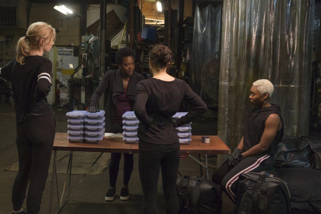 Die letzten Vorbereitungen werden getroffen in Widows - Tödliche Witwen © 2018 20th Century Fox