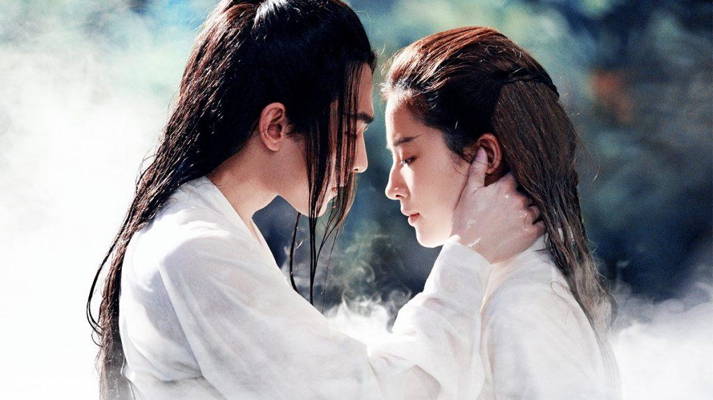 Die sich Liebenden: Bai Qian (Yifei Liu) und Ye Hua (Yang Yang) ©Tiberius Film