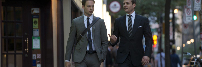 Die zwei besten Anwälte Mike Ross und Harvey Specter in Suits