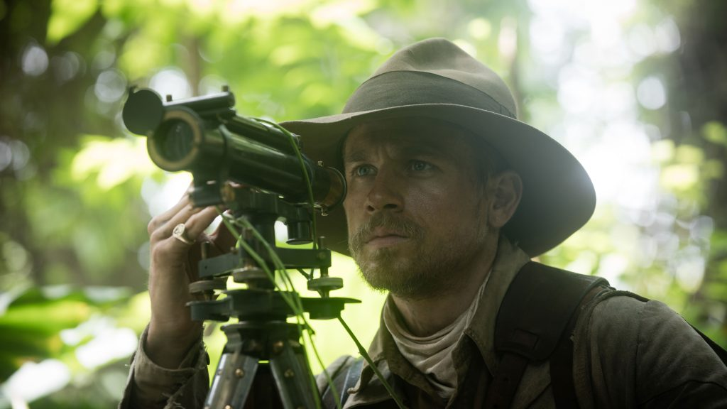 Colonal Percival Fawcett (Charlie Hunnam) in The Lost City of Z