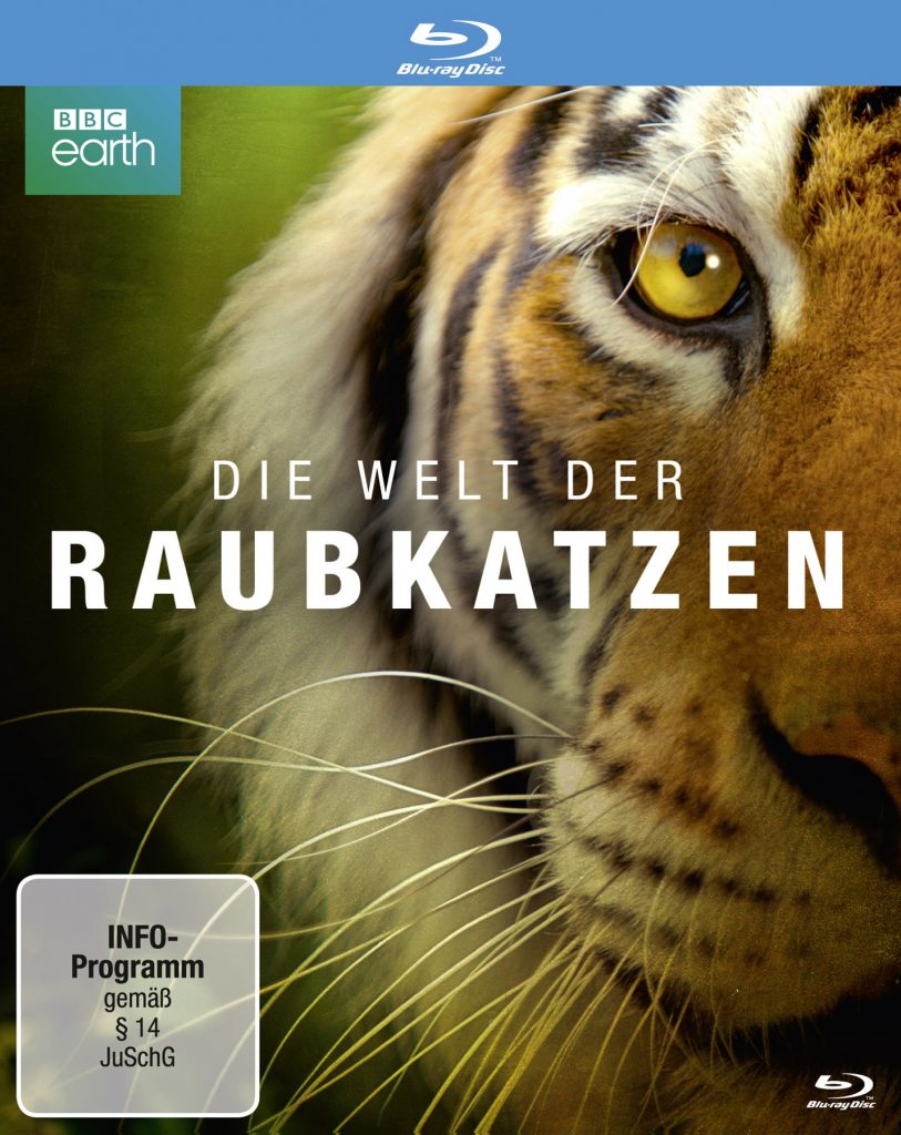 """Cover von """"Die Welt der Raubkatzen"""" © polyband Medien GmbH"""