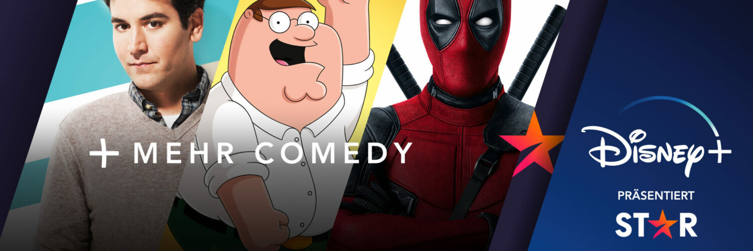How I Met Your Mother, Family Guy und Deadpool. Star holt mehr Comedy nach Disney+