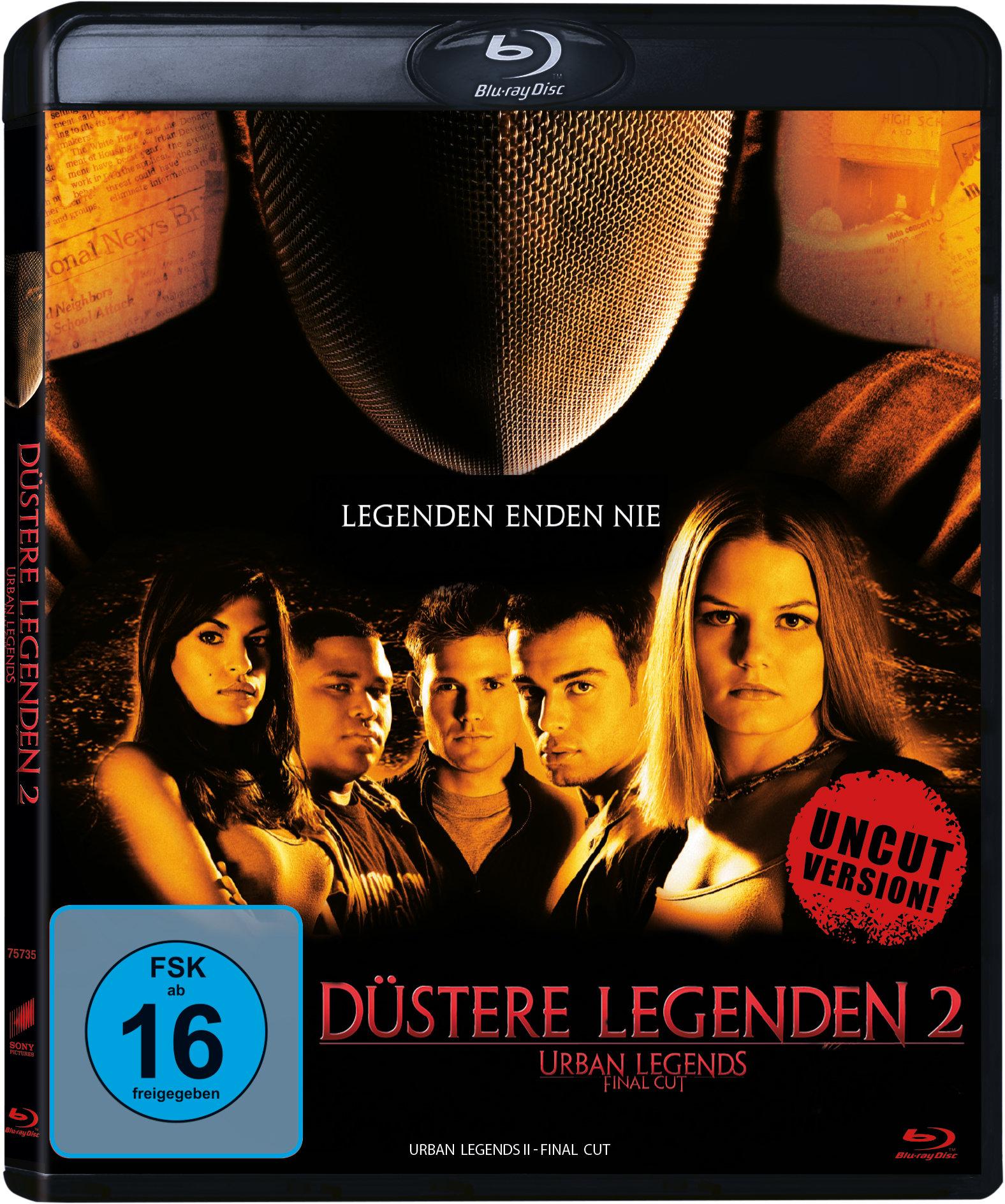 Das Blu-Ray-Cover von Duestere Legenden 2