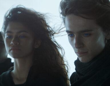 Paul Atreides (Timothée Chalamet) und Chani (Zendaya) blicken auf ihr Schicksal.