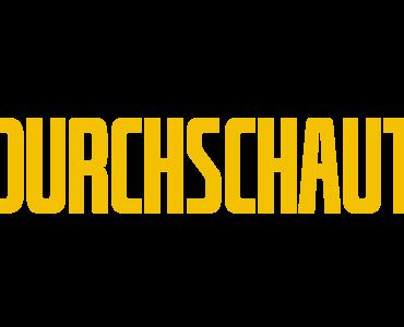 Offizielles Logo in Gelb zu Durchschaut