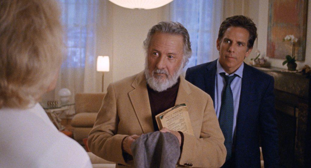 Dustin Hoffmann und Ben Stiller in The Meyerowitz Stories