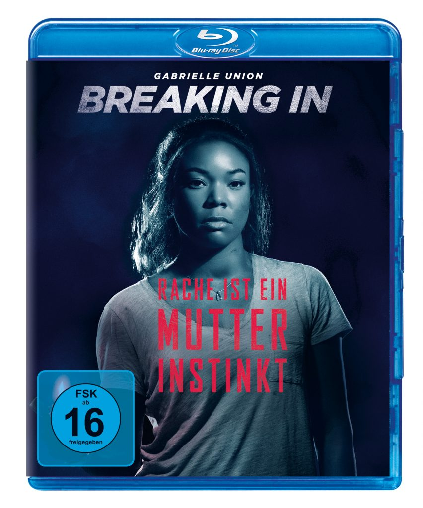 Blu-Ray Cover zu Breaking In ©Univeral Pictures