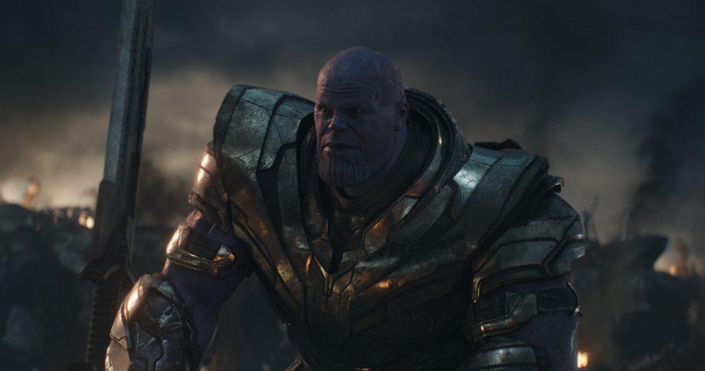 Thanos als Erzfeind der Avengers, Film-Podcast © Walt Disney Studios Motion Pictures